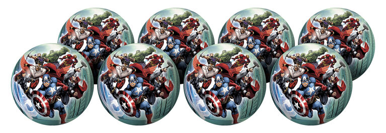 8 Pack Playball with Pump 10 inch Avengers
