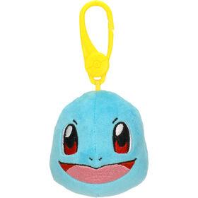 Peluche Pokémon à pince - tête de Carapuce (Squirtle)
