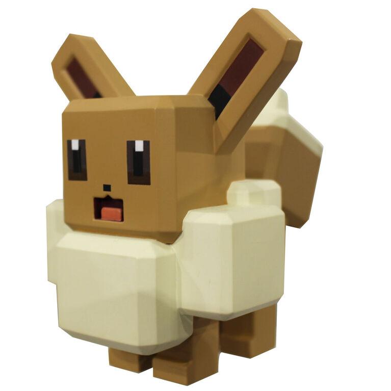 Figurine en vinyle Pokémon de 10 cm - Évoli (Eevee)