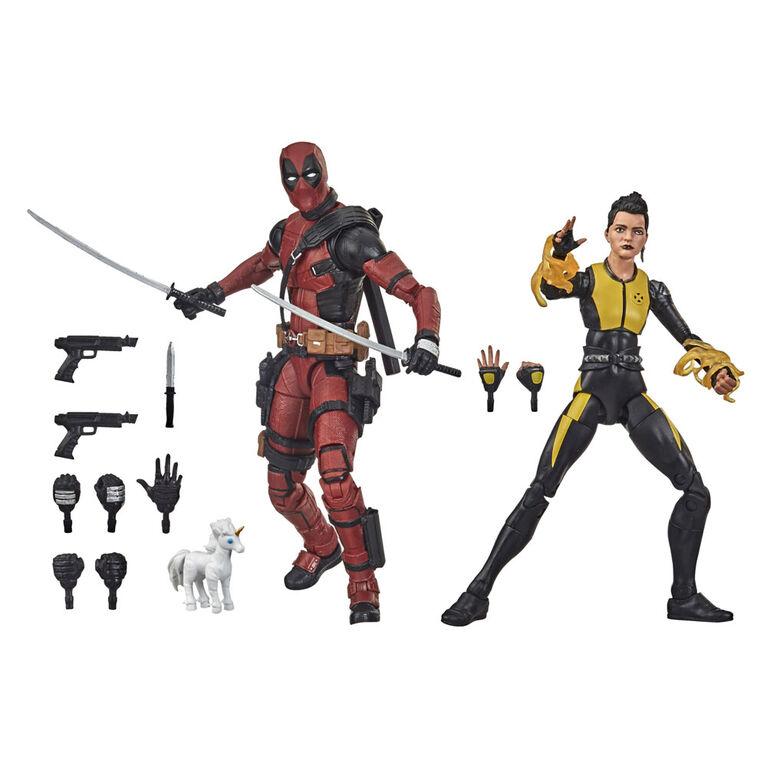 Hasbro Marvel Legends Series, Deadpool et Negasonic Teenage Warhead