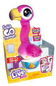 Gotta Go Flamingo de Little Live Pets