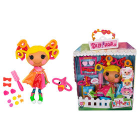 """Lalaloopsy Silly Hair Doll - April Sunsplash with Pet Toucan, 13"""" rainbow hair styling doll"""
