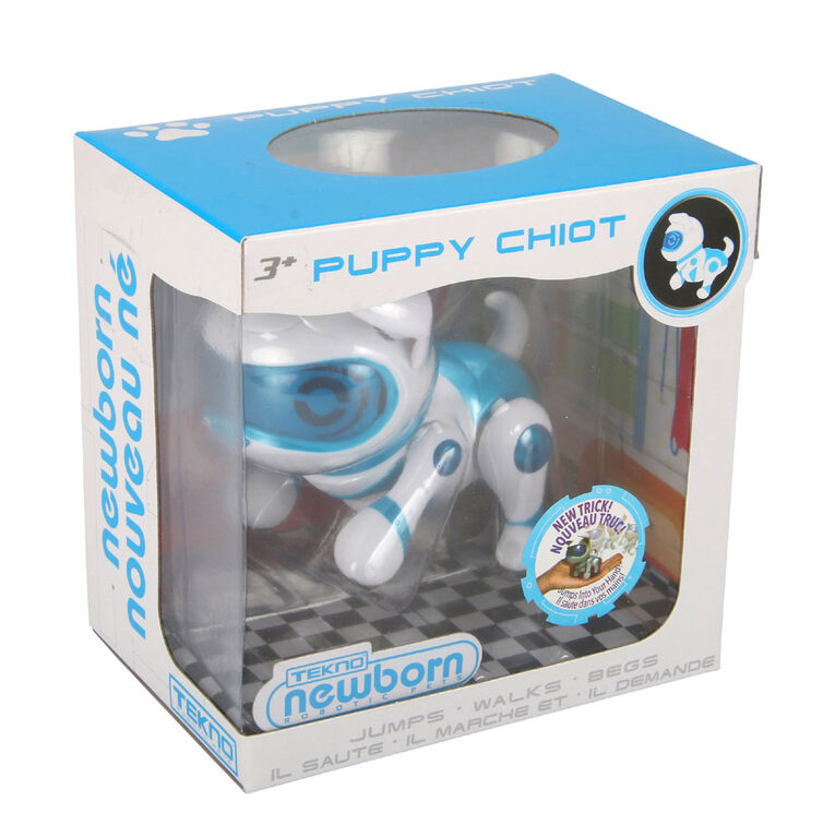 Tekno Newborn Blue Puppy