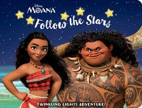 Twinkling Lights Disney Moana - English Edition
