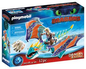 Playmobil - Dragon Racing: Astrid et Tempête