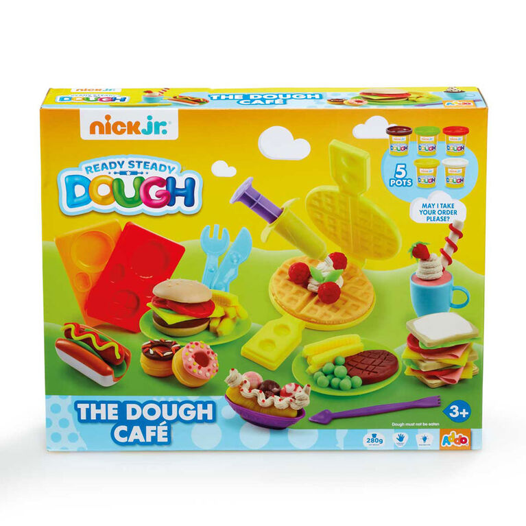 Coffret Ready Steady Dough The Dough Café de Nick Jr - Notre exclusivité
