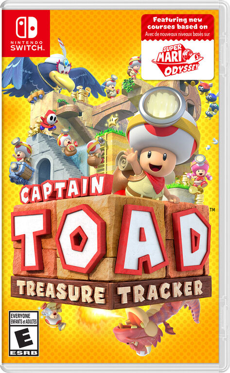 Nintendo Switch - Captain Toad Treasure Tracker