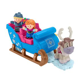 Disney Frozen Kristoff's Sleigh by Little People  031795