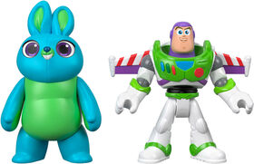Imaginext Disney Pixar Toy Story Bunny and Buzz Lightyear Figures