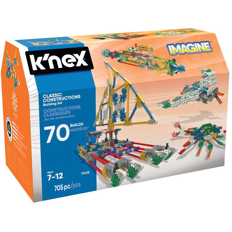 K'Nex Classic Construction 70 Model Set