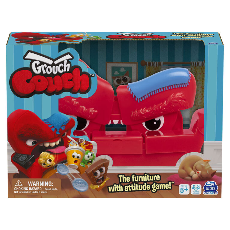 Grouch Couch, Furniture with Attitude Game