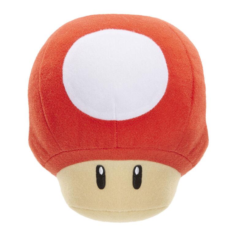 Peluche Pdq De Nintendo Sfx - Champignon 1Up (Rouge)
