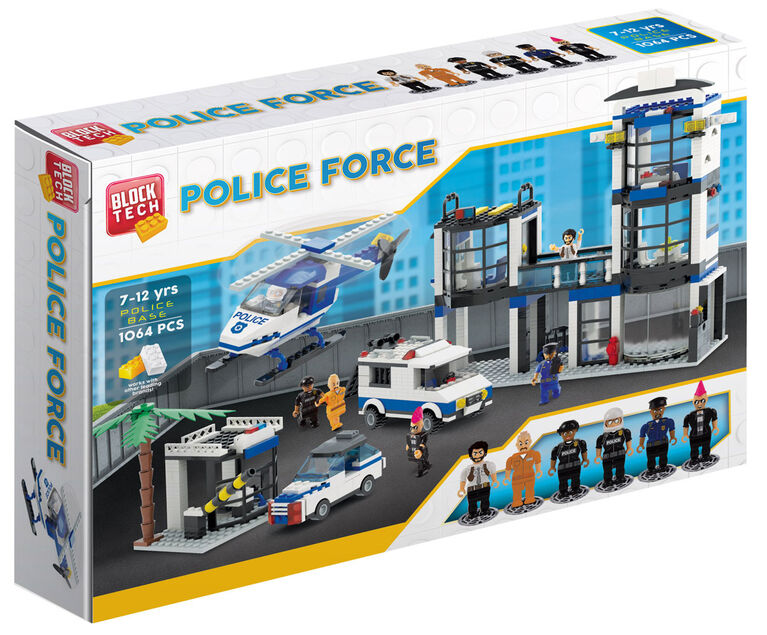Block Tech - Police Force: Police Base 1064 pc