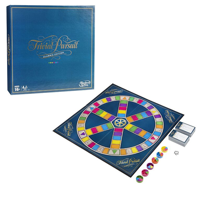 Hasbro Gaming - Trivial Pursuit Game: Classic Edition