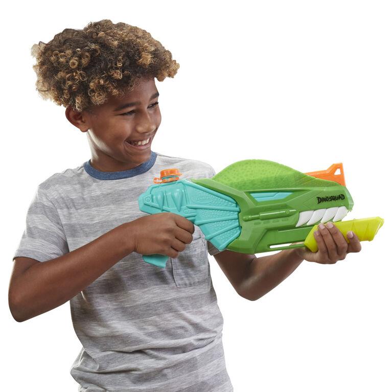 Nerf Super Soaker DinoSquad, blaster à eau Dino-Soak à pompe