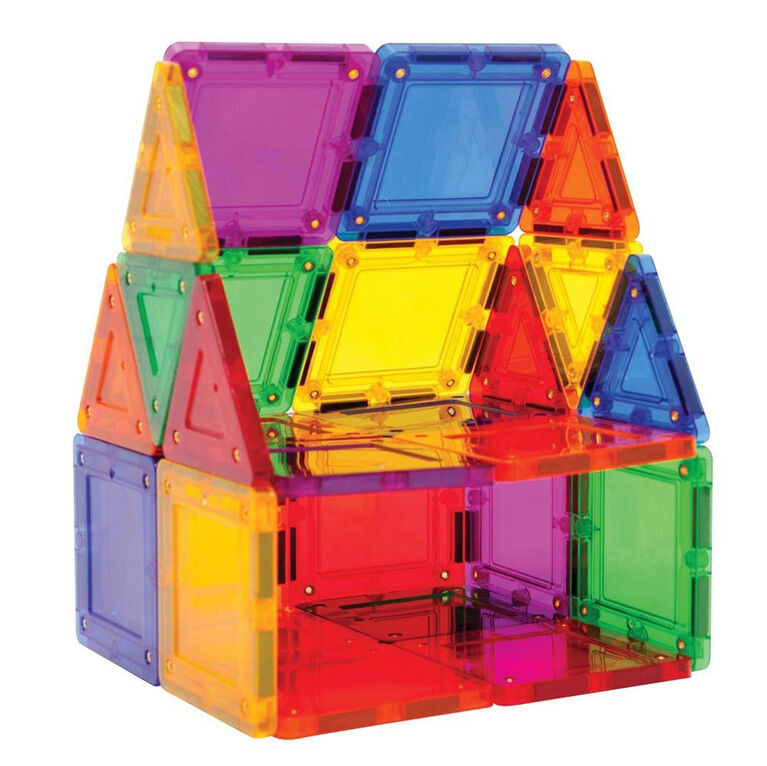 Magformers TileBlox Rainbow 30 pièces - With Magnetic Activity Board