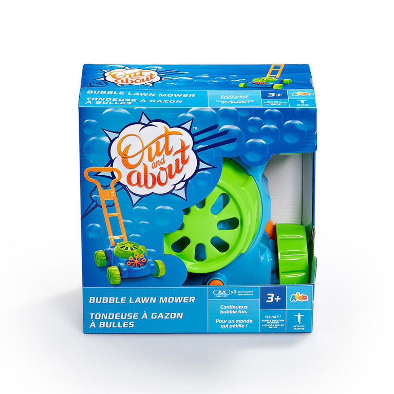 Out and About Bubble Lawn Mower - R Exclusive