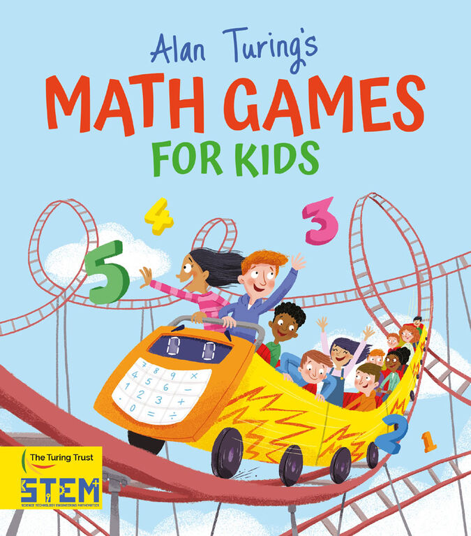 Alan Turings Math Games For Kids - Édition anglaise