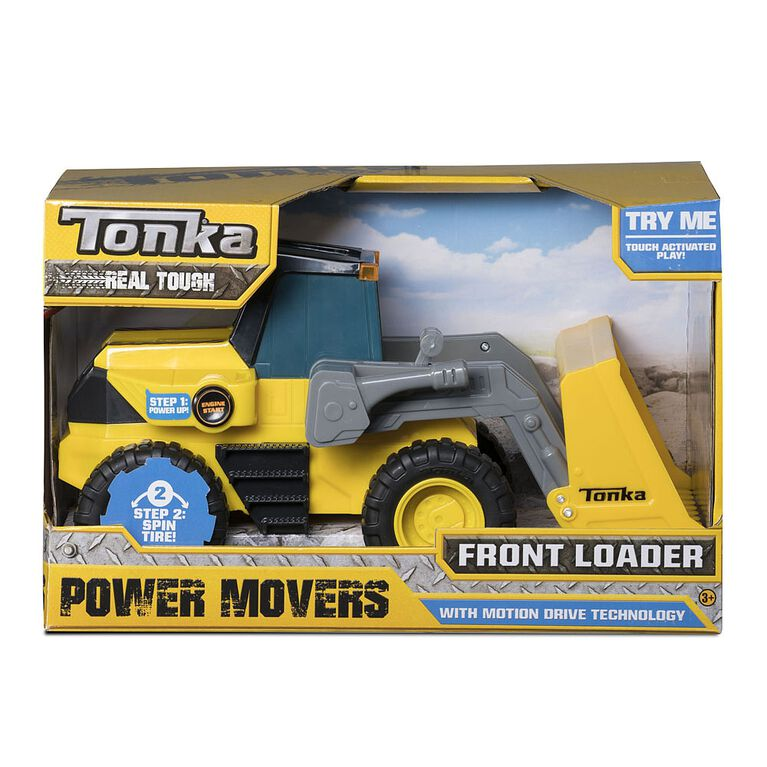 Camion à chargement frontal Power Movers Tonka.