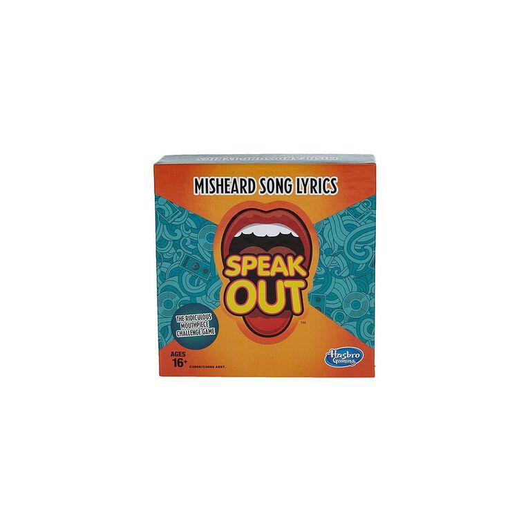 Hasbro Gaming - Speak Out Expansion Pack: Misheard Song Lyrics