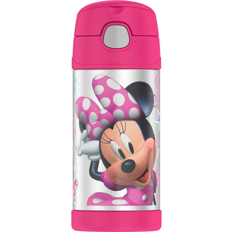 Thermos Bouteiile Funtainer Minnie Mouse Bowtique - Les styles peuvent varier.
