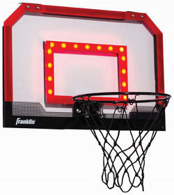 Franklin Sports Light-Up Pro Hoops