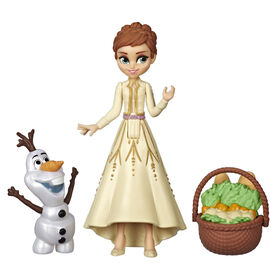 Disney Frozen Anna and Olaf Small Dolls