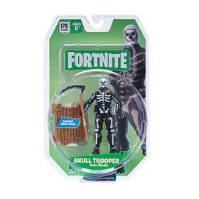 Figurine en mode solo Fortnite, Skull Trooper.