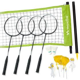 Viva Active 4 Player Recreational Badminton Set