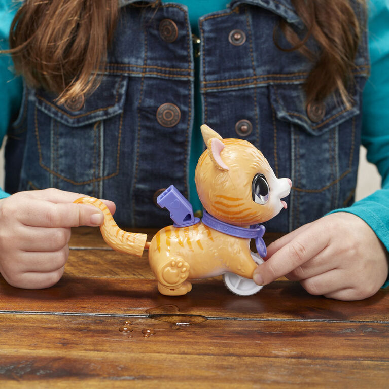 furReal Peealots Lil' Wags Tabby Interactive Pet Toy