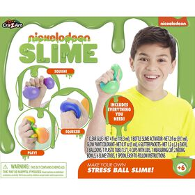 Nickelodeon Stress Ball Slime Kit