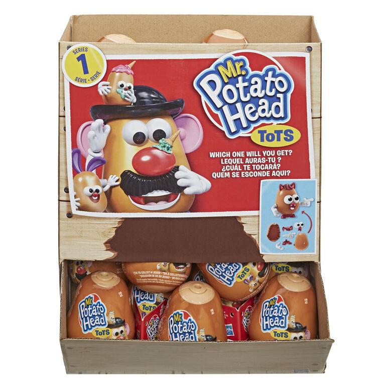 Mr. Potato Head Tots Collectible Figures; Mini Collectible Toys