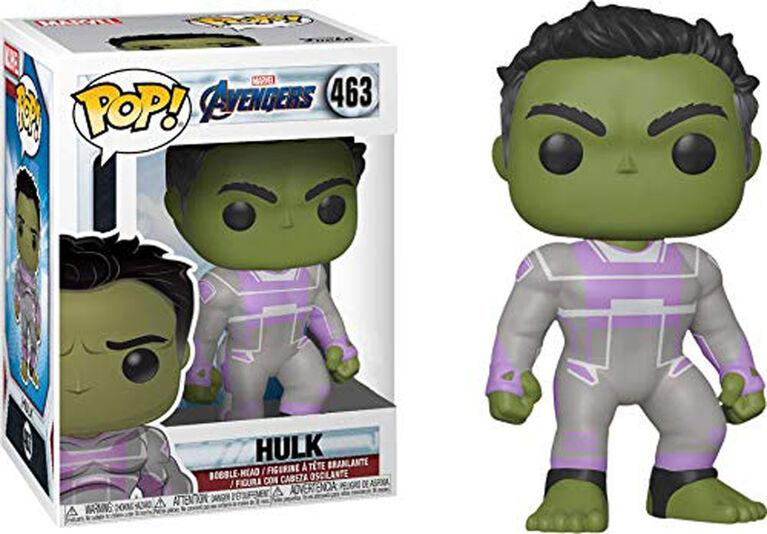 Figurine en Vinyle Hulk par Funko POP! Avengers Endgame - Édition anglaise - R Exclusif
