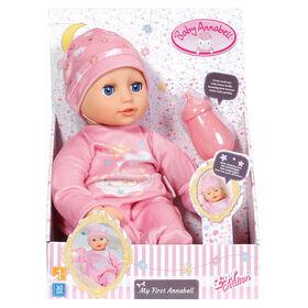 Poupon Baby Annabell de 30 cm avec bonnet