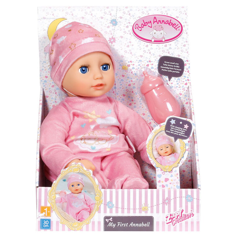 Baby Annabell Newborn 30cm Doll with Hat