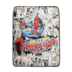 Marvel Comics Spider-Man Super Plush Throw
