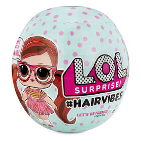 L.O.L. Surprise! #Hairvibes Dolls with 15 Surprises and Mix & Match Hair Pieces