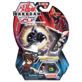 Bakugan, Darkus Serpenteze, 2-inch Tall Collectible Action Figure and Trading Card