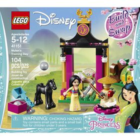 LEGO Disney Princess L'entraînement de Mulan 41151.