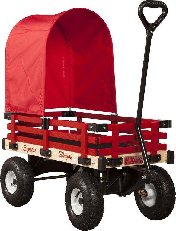 "Millside Half Canopy For 16"" X 34"" Wagon"