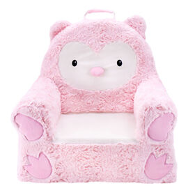 Soft Landing™ Sweet Seats™  Chaise Personnage Chouette Rose
