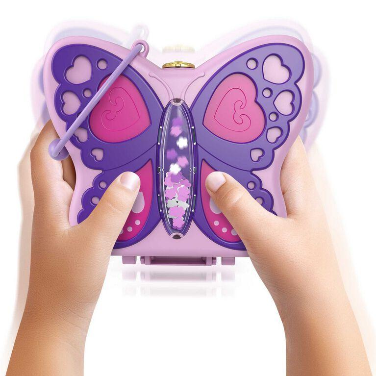 Polly Pocket Backyard Butterfly Compact