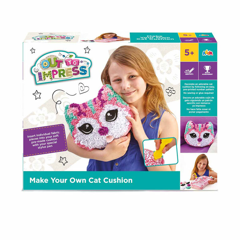 Out To Impres MYO Cat or Dog Cushion - English Edition