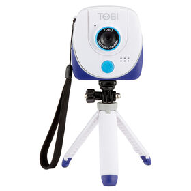 Little Tikes Tobi 2 Director's Camera, High-Definition Camera for Photos and Videos, Green Screen for Special Effects and Backgrounds, Flip-Out Selfie Camera, Selfie Stick, Auto Timer, and Tripod | Ages 6+