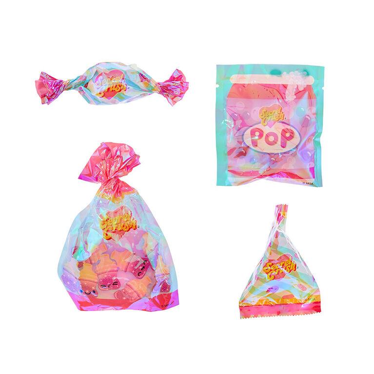 Minis Secret Crush - Écrasez pour déballer une mini poupée au thème de bonbon