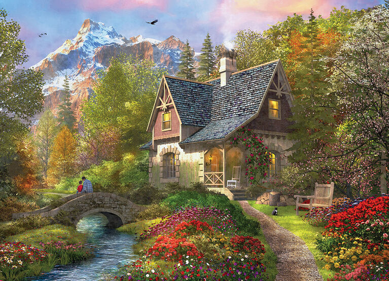Eurographics Nordic Morning 1000 Piece Puzzle