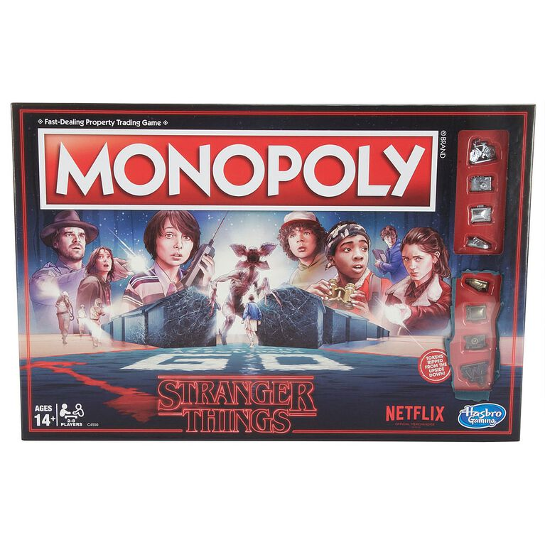 Hasbro Gaming - Monopoly Stranger Things Edition