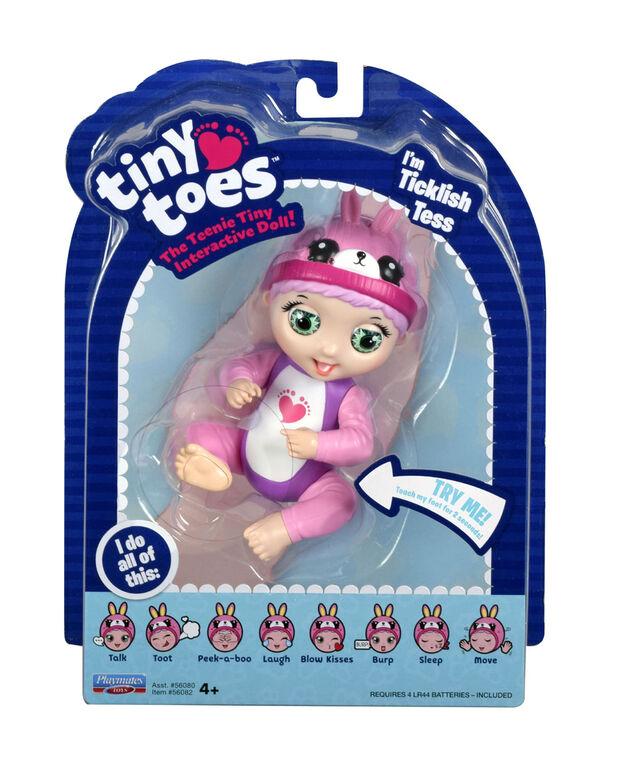 Tiny Toes Doll Ticklish Tess