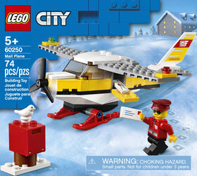 LEGO City Great Vehicles Mail Plane 60250