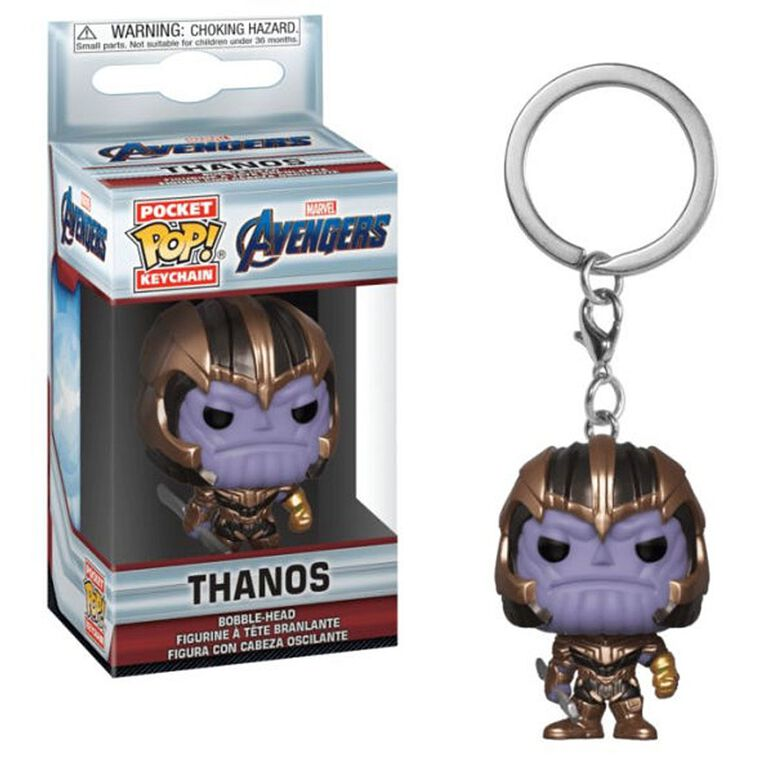 Funko Keychain! Marvel: Avengers End Game - Thanos Vinyl Figure